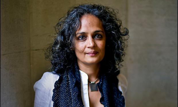 Thrust into the limelight: Roy was an unknown 35-year-old screenwriter from southern India when she won the Booker