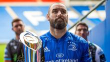 Leinster are aiming to win a third consecutive PRO14 title when rugby restarts next month. Photo by Chris Fairweather/Sportsfile