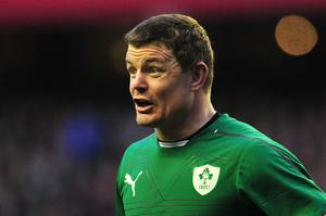 Brian O'Driscoll will make his final appearance in an Irish jersey at home against the Italians.