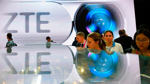 The US government has slapped $1.2 billion in fines on Chinese telecom giant ZTE for violations of US export controls for selling goods to Iran and North Korea