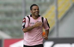 Palmermo Italian side Palermo play in pink