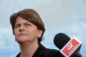 The row involving the North's First Minister Arlene Foster – and her role in the so-called 'cash-for-ash' scandal – has brought the Northern Executive to the brink. Photo by Charles McQuillan/Getty Images