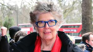 Prue Leith said she spent much of her children's early years working (Ian West/PA)