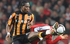 Manucho (2008) Pictured here when playing on loan for Hull, the Angolan forward was recommended to Sir Alex Ferguson by assistant manager Carlos Queiroz. He made a sum total of three substitute appearance for United and was loaned to Panathinaikos as well as Hull before being sold to Valladolid in 2009.