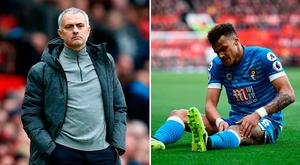 Jose Mourinho didn't want to comment on Tyrone Mings clash with Zlatan Ibrahimovic