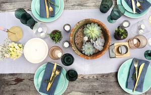 A tablescape from Orla Neligan
