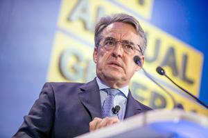 Alexandre de Juniac, director general and CEO of the International Air Transport Association. Photo: Jean Chung/Bloomberg