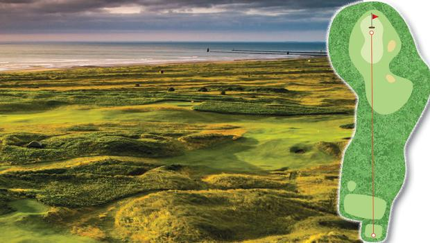 10. County Louth 5th (The Haven), 173 yards, par 3