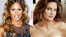 Laverne Cox and Caitlyn Jenner