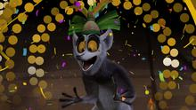 King Julien is hosting a fake New Year's Eve on Netflix