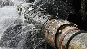 The firm warns that shortages will become more common unless the plan to extract water from the Shannon goes ahead. Stock Image