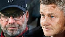 Jurgen Klopp and Ole Gunnar Solskjaer. Photo: Srdjan Stevanovic/Getty Images