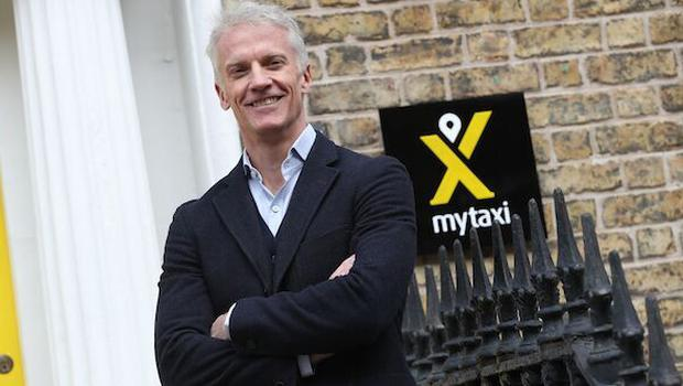 CEO mytaxi Andrew Pinnington