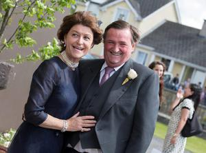 Kate and Louis Ronan pictured at Mairead Farrell and Louis Ronan's wedding in Tipperary. Picture Dylan Vaughan.