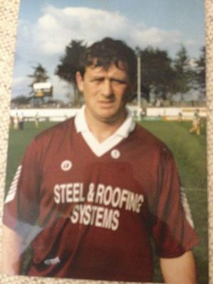 Johnny Ryan pictured during his playing days