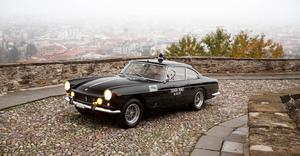 The vintage 1962 Ferrari used by Rome's police force, now