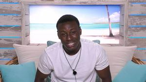 Sherif Lanre has left the Love Island villa (Rex)
