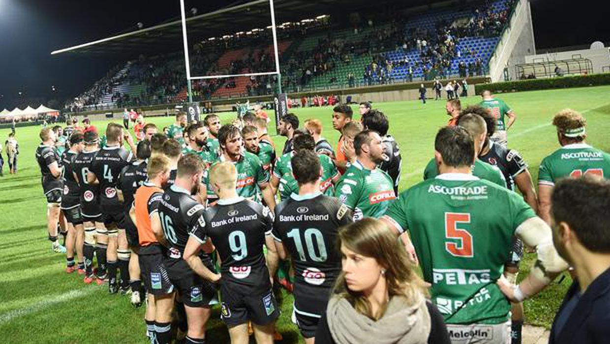 Connacht's PRO14 clash with Benetton called off due to coronavirus outbreak in Italians' squad