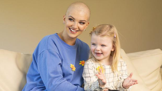 Mother's love: Shannen Joyce says her daughter Róisín (3) has been her 'driving force'