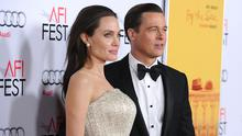 Angelina Jolie and Brad Pitt's vintage rosé has previously been listed as one of the world's best. (Photo by Jason LaVeris/FilmMagic)