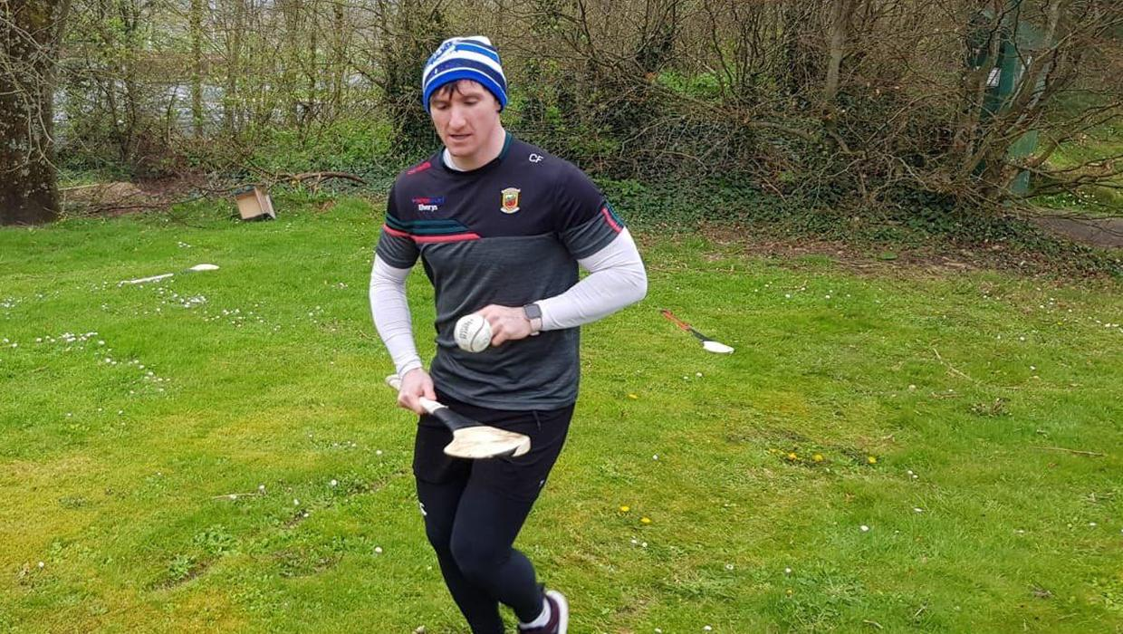 42km while soloing a sliotar: Mayo hurler Cathal Freeman's remarkable €55k fundraiser for frontline workers