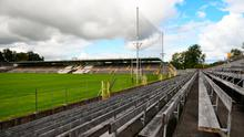 A general view of St Tiernach's Park prior to the Monaghan SFC semi-final between Scotstown and Carrickmacross Emmets. Photo: Philip Fitzpatrick/Sportsfile