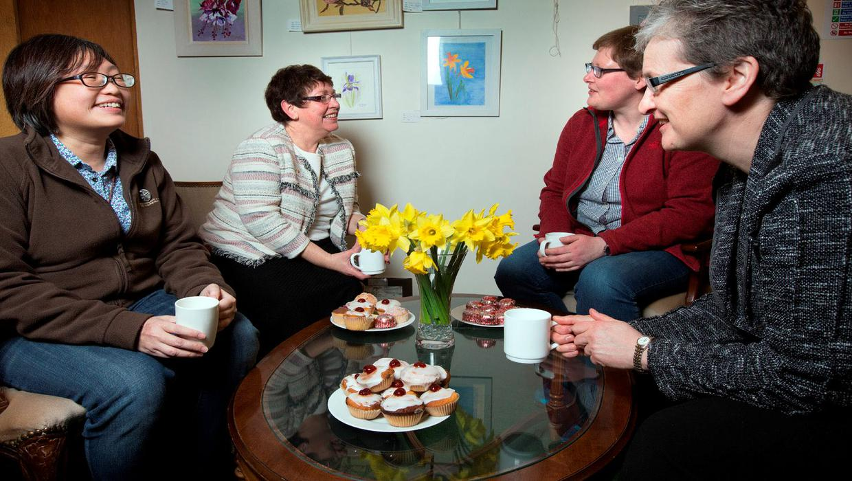Stood up on a speed-date, but nuns are ever hopeful