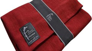 The Fever Blanket in red, pictured below, also available in other shades, €100.29; fergusonsirishlinen.com