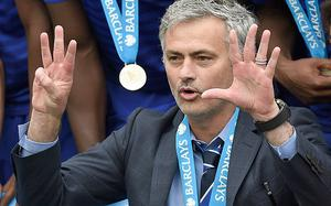 Confident in his own abilities: Jose Mourinho is not afraid to blow his own trumpet