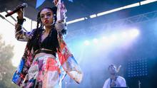 CHICAGO, IL - JULY 19: FKA Twigs performs during Pitchfork Music Festival at Union Park on July 19, 2014 in Chicago, Illinois. (Photo by Daniel Boczarski/Getty Images for Ketel One)