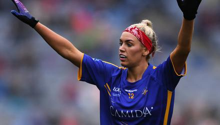 Orla O'Dwyer, pictured in action for Tipperary back in 2019, scored in Brisbane Lions' AFLW semi-final win over Collingwood