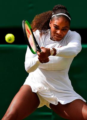 Williams will next face Germany's Julia Goerges, the 13th seed, who reached her first grand slam semi-final with victory over Kiki Bertens.