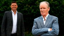 Influential: Brian Kerr (right) and Niall Quinn at Virgin Media's Festival of Football launch that, starting this week, will see 26 European games broadcast across 19 days. Photo: Sportsfile