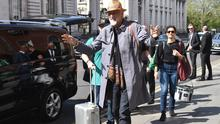 Fleetwood Mac arrive at their Dublin hotel ahead of their RDS concert this week