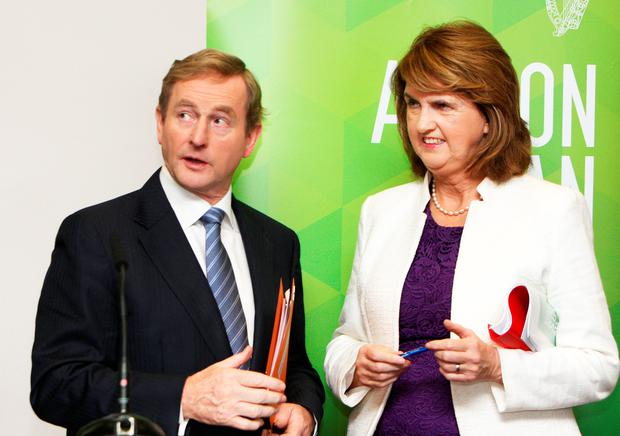 Taoiseach and Tanaiste pledge water errors have now been 'acknowledged and corrected' by the Government. Photo: Tom Burke