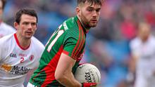 Aidan O'Shea (pictured) and Mark Ronaldson are Mayo's top scorers from open play in their four League games, each scoring 1-6.
