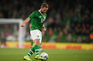IN CONTROL: Alan Judge in action for Ireland during the International Friendly match against Bulgaria at the Aviva Stadium last September. Pic: Sportsfile.