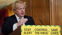 Confusing: British Prime Minister Boris Johnson has announced ~plans to reopen England. Photo: REUTERS