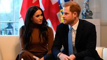 New direction: Harry and  Meghan. Photo: Daniel Leal-Olivas /PA Wire