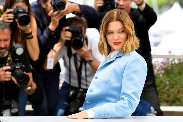 Lea Seydoux attends thephotocall for