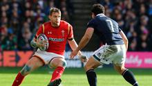 Dan Biggar, here taking on Scotland's John Hardie, and his Welsh-team-mates have much to prove after their Murrayfield disappointment Photo: David Rogers/Getty Images