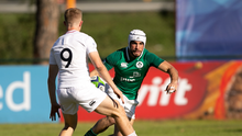 Ireland fullback Iwan Hughes has been ruled out of the rest of the World Rugby U20 Championship with a finger injury. Photo by Florencia Tan Jun/Sportsfile