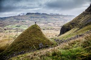 "Eagle's Rock, Co. Leitrim: ""On a recent hike with Northwest Adventure Tours, we come across this mound; it looked like a glacial slide had pushed it down and left a nice viewing point to stand upon."" Photo: Colin Gillen/Framelight.ie"