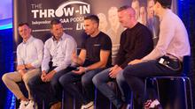 Joe Canning, Eddie Brennan, John Mullane and Brendan Cumminson The Throw In, Independent.ie's GAA podcast in association with Bord Gais Energy.  Pictures by Owen Breslin