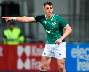 Ireland U-20s lock Matthew Dalton. Photo: David Fitzgerald/Sportsfile