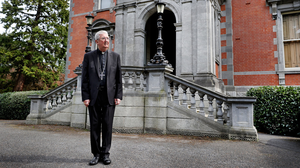 Resignation: Archbishop of Dublin Diarmuid Martin, now 75, has already submitted his resignation to the Pope. Photo: Steve Humphreys