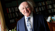 POSITIVE EFFECT: Michael D Higgins believes the world will break new ground