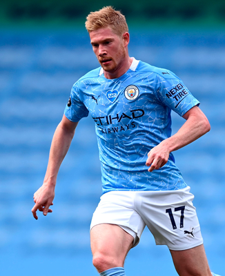Ruled out: Kevin De Bruyne