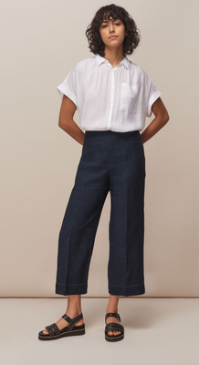 Whistles cropped style trousers (€85) from Brown Thomas