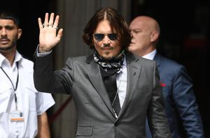 Johnny Depp arrives at the High Court (Kirsty O'Connor/PA)